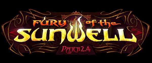 Patch 2.4: Fury of the Sunwell 决战太阳之井